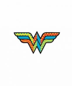 Wonder Woman Retro Laptop Locker Phone Sticker Officially Licensed