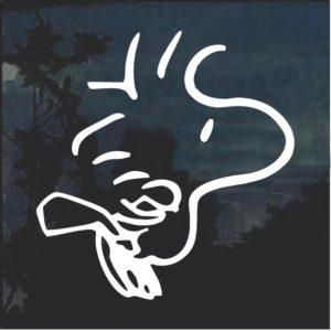 Woodstock Window Decal Sticker