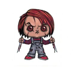 Chucky Childs Play Laptop Decal Sticker Officially Licensed II