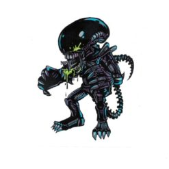 Alien vs Predator Laptop Decal Sticker Officially Licensed