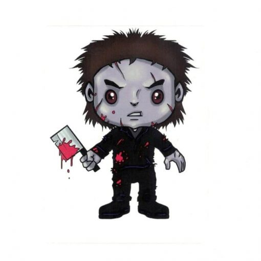 Michael Myers Laptop Decal Sticker Officially Licensed