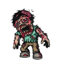 Walking Dead Zombie Laptop Decal Sticker Officially Licensed