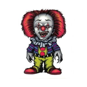Pennywise IT Clown Laptop Decal Sticker Officially Licensed