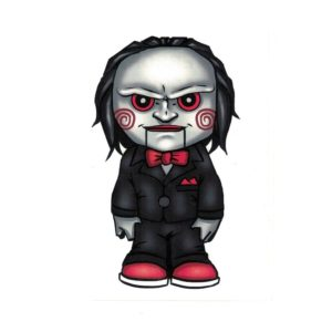 Saw Jigsaw Clown Doll Laptop Decal Sticker Officially Licensed