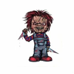 Chucky Childs Play Laptop Decal Sticker Officially Licensed 1