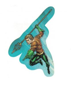 Aquaman Justice League Laptop Locker Phone Sticker Licensed DC Comics