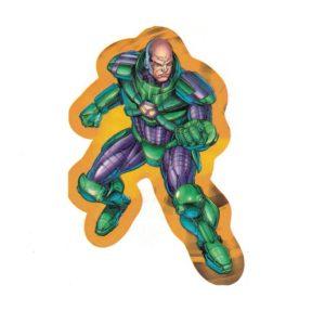 Lex Luthor Justice League Laptop Locker Phone Sticker Licensed DC Comics