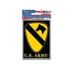 US 1st Calvary Division Full Color Window Decal Sticker Licensed