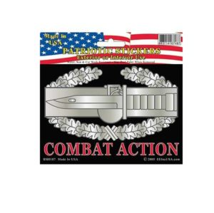 US Army Combat Action CAB Full Color Window Decal Sticker Licensed