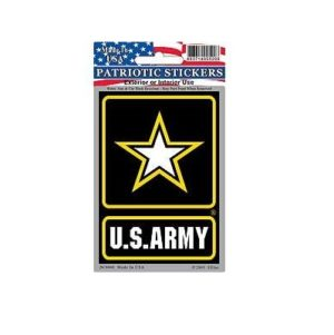 US Army Star Full Color Window Decal Sticker Licensed
