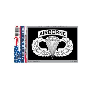 US Army Airborne Para Full Color Window Decal Sticker Licensed