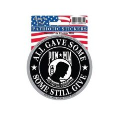 POW MIA All Gave Some Full Color Window Decal Sticker Licensed