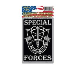 US Army Special Forces Full Color Window Decal Sticker Licensed