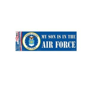 USAF Air Force Son 3x10 Full Color Decal Sticker Licensed