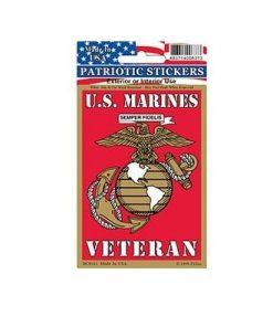 Marines Corps Veteran USMC EGA Full Color II Window Decal Sticker Licensed