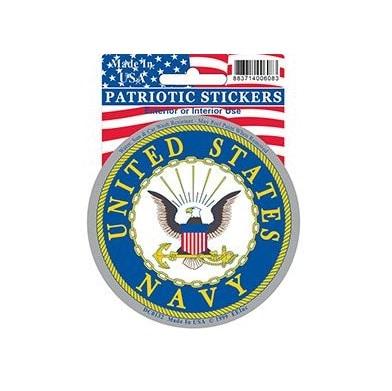 US Navy USN Full Color Window Decal Sticker Licensed
