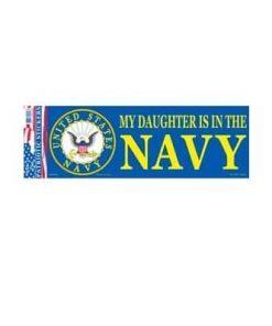 US Navy USN Daughter 3x10 Full Color Decal Sticker Licensed