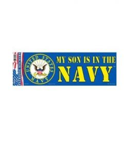 US Navy USN Son 3x10 Full Color Decal Sticker Licensed