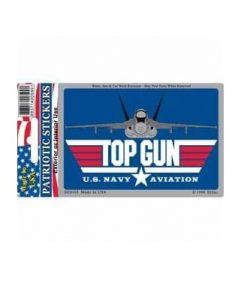 US Navy USN Top Gun Full Color Window Decal Sticker Licensed