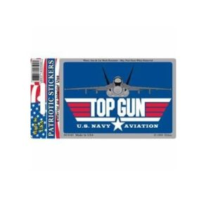 US Navy USN Top Gun Full Color Window Decal Sticker Licensed