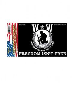 Wounded Warrior Full Color Window Decal Sticker Licensed