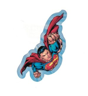 Superman Justice League Laptop Locker Phone Sticker Licensed DC Comics