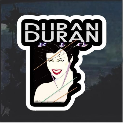 Duran Duran Rio full color Decal Sticker