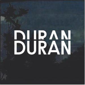 Duran Duran Window Decal Sticker