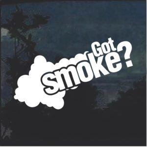 Got Smoke Diesel Truck Window Decal Sticker