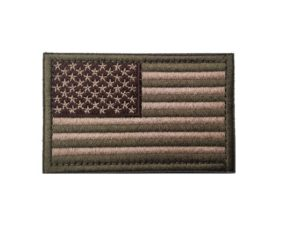 Tactical USA Flag Army Green and Tan Moral Patch