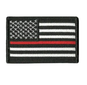 Tactical USA Flag Thin Red Line