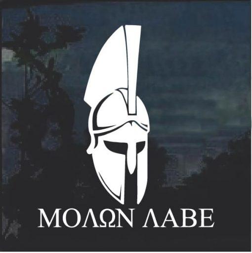 Molon Labe Spartan Helmet D2