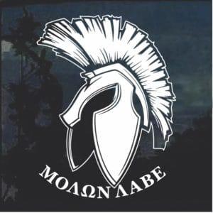 Molon Labe Spartan Helmet D3