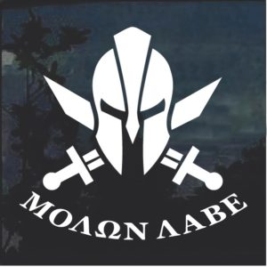 Molon Labe Spartan Helmet D6