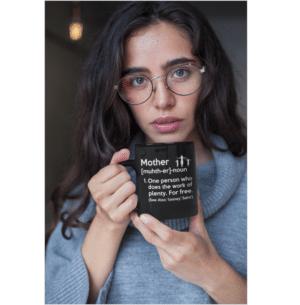 Mom Noun Funny Coffee Mug 15oz.