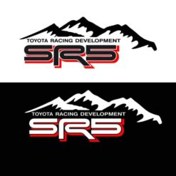 Toyota TRD SR5 Mountains 2 color Decal Set Toyota Trd Stickers