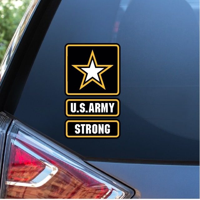 US Army National Guard Military Decal Sticker Car Truck Window Laptop Wall