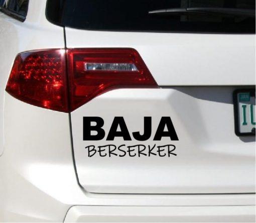 Baja Berserker Decal Sticker