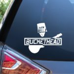 BucketHead - Band Stickers A2