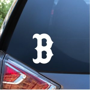 Boston B Window Deal Sticker
