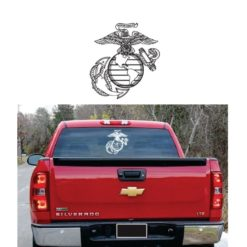 Marines EGA Eagle Globe Anchor Semper Fi Decal Sticker
