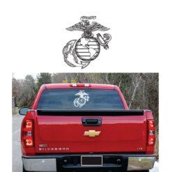 Marines EGA Eagle Globe Anchor Semper Fi Decal Sticker