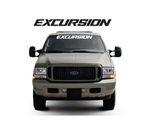 Ford Excursion Windshield Banner Decal Sticker