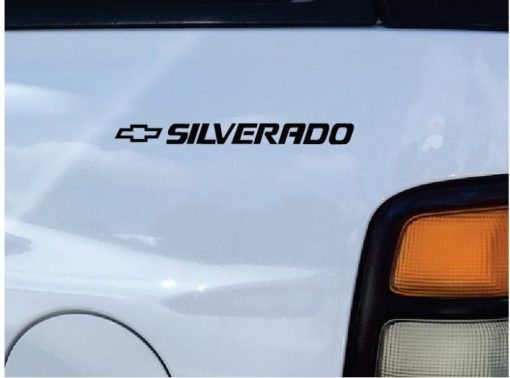 Chevy SIlverado Rear Quarter Decal Stickers