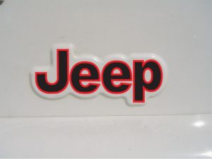 jeep wrangler fender decal 2 color