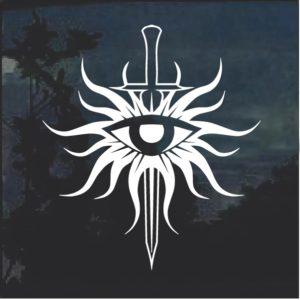 Dragon Age Inquisition Window Decal Sticker
