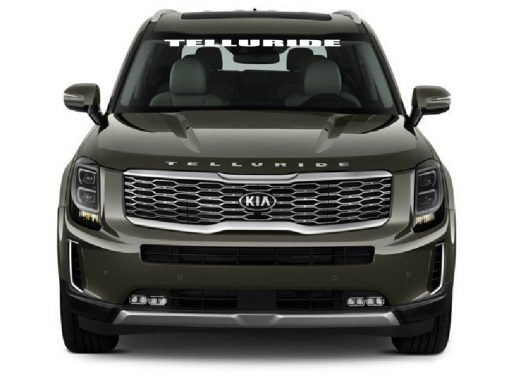 Kia Telluride Windshield Banner Decal Sticker