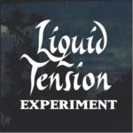 Liquid tension experiment window decal sticker