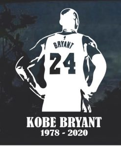 Rest in peace Kobe Bryant Decal Sticker
