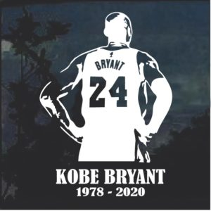 Rest in peace Kobe Bryant Decal Sticker